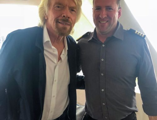 Sydney Captain Blog – On board with Sir Richard Branson