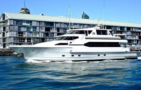 4 460x295 - A.Q.A - Sydney's Exclusive 92' Superyacht