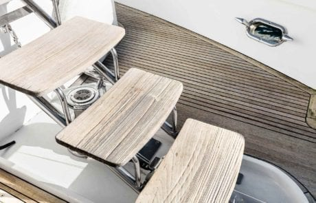 aqa charter boat sydney 13 460x295 - A.Q.A Sydney | Superyacht Charter | Luxury Cruise Boat