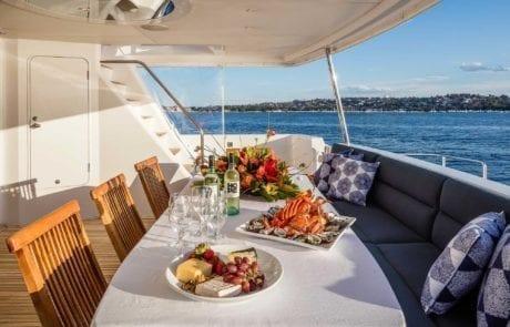 aqa charter boat sydney 18 460x295 - A.Q.A Sydney | Superyacht Charter | Luxury Cruise Boat