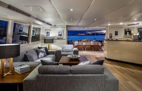 aqa charter boat sydney 29 460x295 - A.Q.A Sydney | Superyacht Charter | Luxury Cruise Boat