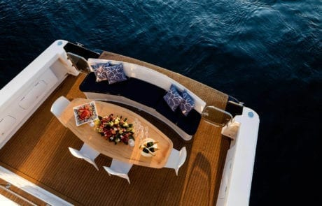 sota charter boat sydney 15 460x295 - State Of The Art - The Exclusive 65' motor yacht