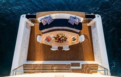 sota charter boat sydney 16 460x295 - State Of The Art - The Exclusive 65' motor yacht