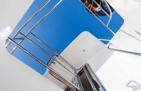 sota charter boat sydney 2 460x295 - State Of The Art - The Exclusive 65' motor yacht