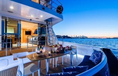 sota charter boat sydney 24 460x295 - State Of The Art - The Exclusive 65' motor yacht