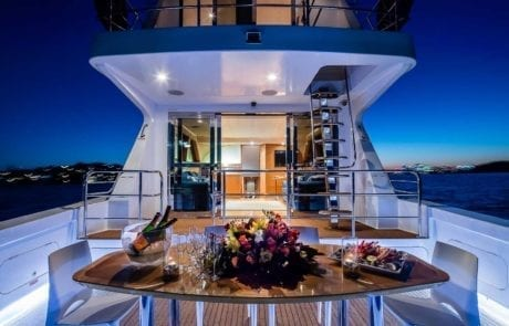 sota charter boat sydney 26 460x295 - State Of The Art - The Exclusive 65' motor yacht