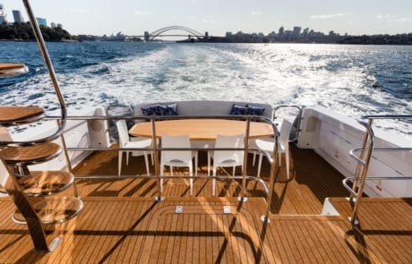 shyc sota 5465 460x295 - State Of The Art - The Exclusive 65' motor yacht