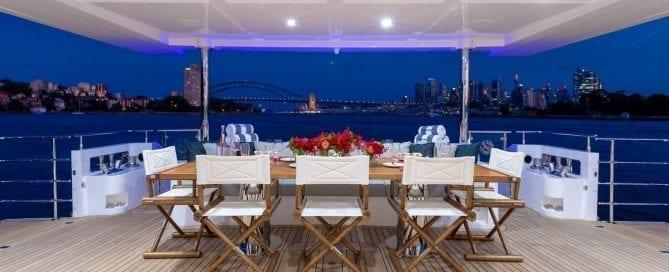 Wedding & Birthday Catering Sydney Harbour