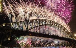 sydney fireworks 320x202 - The Ultimate New Year's Eve Experience – A Sydney Harbour Yacht Charter Superyacht